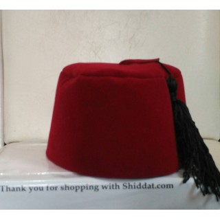 Turkish Kid's Hat-Red